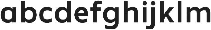 MADE Future X otf (500) Font LOWERCASE