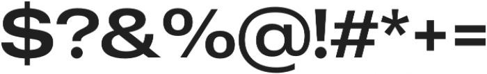 MADE Outer Sans Alt otf (400) Font OTHER CHARS