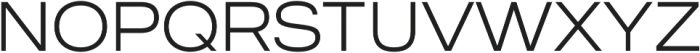 MADE Outer Sans otf (100) Font UPPERCASE