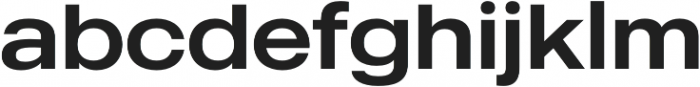 MADE Outer Sans otf (400) Font LOWERCASE