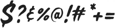 MADE Soulmaze Brush otf (400) Font OTHER CHARS
