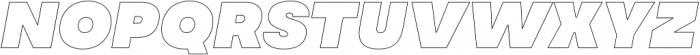 MADE Soulmaze Outline otf (400) Font UPPERCASE