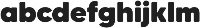 MADETommySoft-Black otf (900) Font LOWERCASE