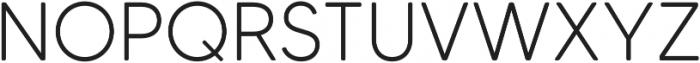 MADETommySoft-Light otf (300) Font UPPERCASE