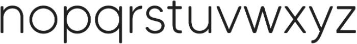 MADETommySoft-Light otf (300) Font LOWERCASE