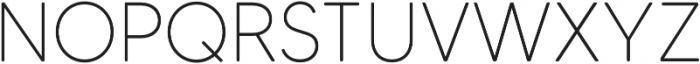 MADETommySoft-Thin otf (100) Font UPPERCASE