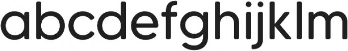 MADETommySoft otf (400) Font LOWERCASE
