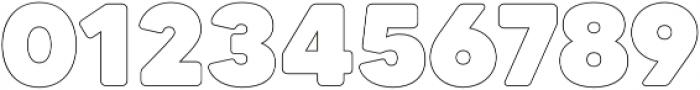 MADETommySoftOutline-Black otf (900) Font OTHER CHARS