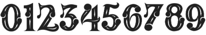 MAFIA otf (400) Font OTHER CHARS