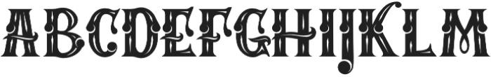 MAFIA otf (400) Font UPPERCASE