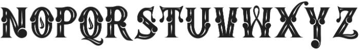 MAFIA otf (400) Font LOWERCASE