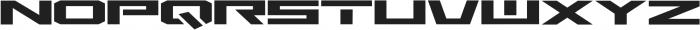 MARS ttf (400) Font UPPERCASE