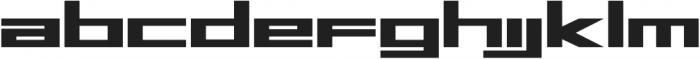 MARS ttf (400) Font LOWERCASE