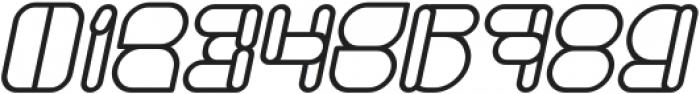 MAXIMUM KILOMETER Bold Italic otf (700) Font OTHER CHARS