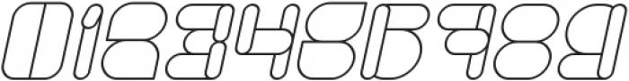 MAXIMUM KILOMETER Italic otf (400) Font OTHER CHARS