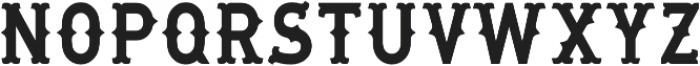 MaaLLaangBronks otf (400) Font UPPERCASE