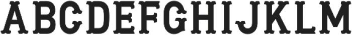 MaaLLaangBronks otf (400) Font LOWERCASE