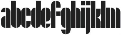 Maat Regular otf (400) Font LOWERCASE