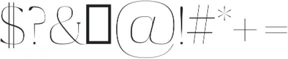 Maaz Thin ttf (100) Font OTHER CHARS