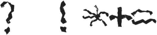 Mabati 1 Regular otf (400) Font OTHER CHARS