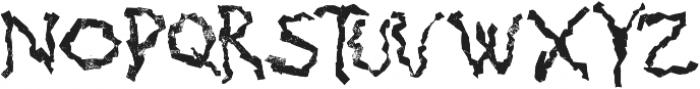 Mabati 1 Regular otf (400) Font UPPERCASE