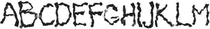 Mabati 1 Regular otf (400) Font LOWERCASE