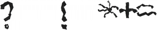 Mabati 2 Regular otf (400) Font OTHER CHARS