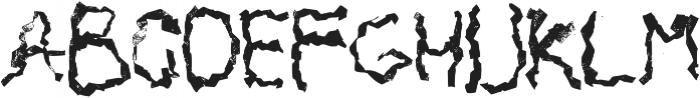Mabati 2 Regular otf (400) Font LOWERCASE