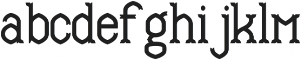 Mable Bold otf (700) Font LOWERCASE
