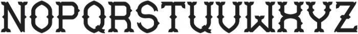 Mable ExtraBold otf (700) Font UPPERCASE