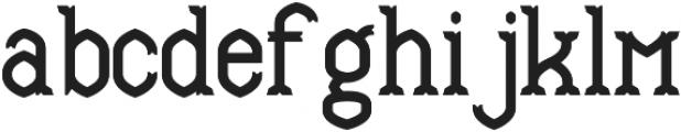 Mable ExtraBold otf (700) Font LOWERCASE