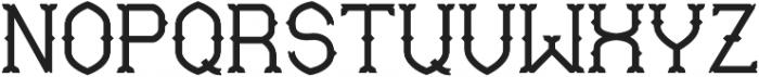Mable SemiBold otf (600) Font UPPERCASE