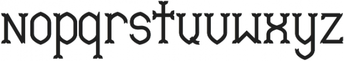 Mable SemiBold otf (600) Font LOWERCASE
