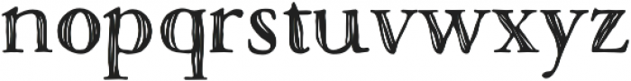 Macarons Bold Sketch otf (700) Font LOWERCASE