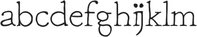 Macarons Light otf (300) Font LOWERCASE