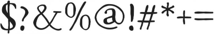Macarons Regular otf (400) Font OTHER CHARS