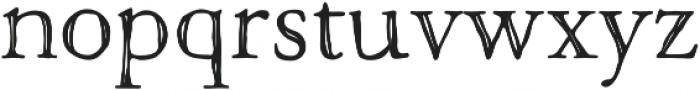 Macarons Sketch otf (400) Font LOWERCASE