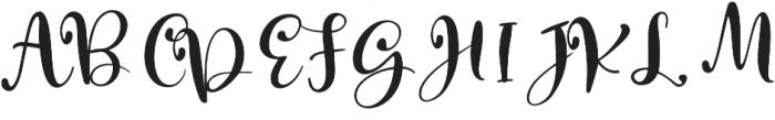 Macbarel otf (400) Font UPPERCASE