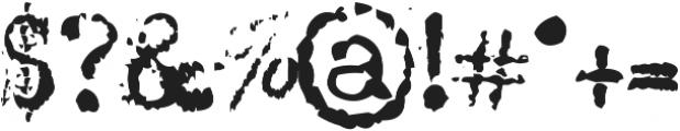 MachinaG ttf (400) Font OTHER CHARS