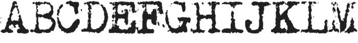 MachinaG ttf (400) Font UPPERCASE