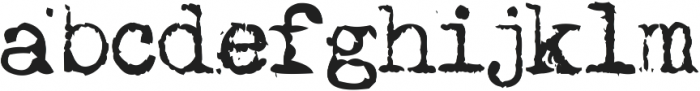 MachinaG ttf (400) Font LOWERCASE