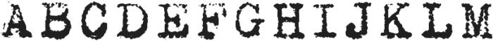 MachinaR ttf (400) Font UPPERCASE