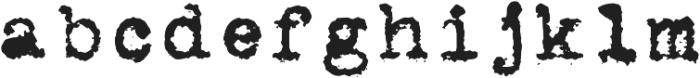 MachinaR ttf (400) Font LOWERCASE