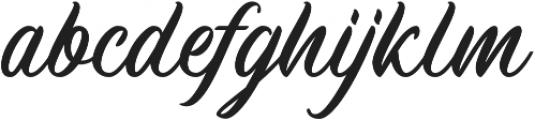 Machineat otf (400) Font LOWERCASE