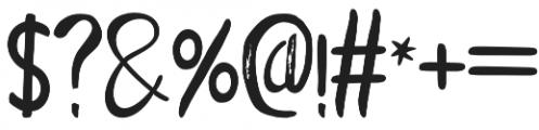 Mackarel otf (400) Font OTHER CHARS