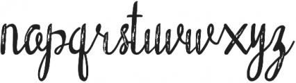 Mackarel ttf (400) Font LOWERCASE