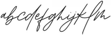 Mackmoore otf (400) Font LOWERCASE