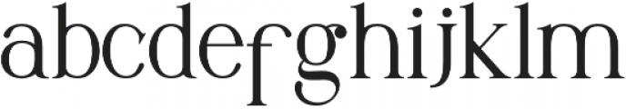 Maclucash otf (400) Font LOWERCASE