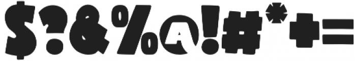 Macro otf (400) Font OTHER CHARS