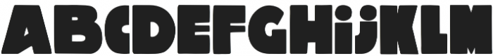 Macro otf (400) Font LOWERCASE